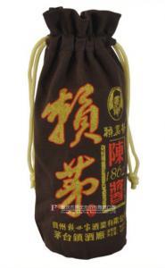 帆布拉绳酒袋3